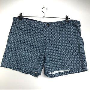 Merona Flat Front Shorts Size 18